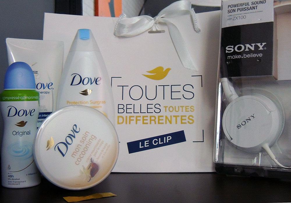 Dove Clip Vraies Beautés