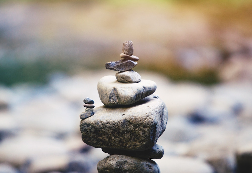 Finding balance is a beautiful thing.
