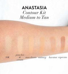 """Anastasia Contour Kit """"Medium to Tan"""" Palette"""