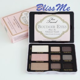 Too Faced Boudoir Eyes ~ Lidschatten Sofe & Sexy Farben Palette