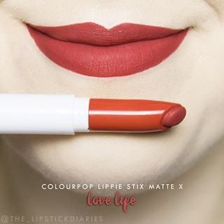 "Colourpop Lippie Stix Matte X / Lippentift ""Love Life"""