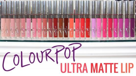 "Colourpop Ultra Matte Liquid Lipstick / Lippentift ""Are N Be"""