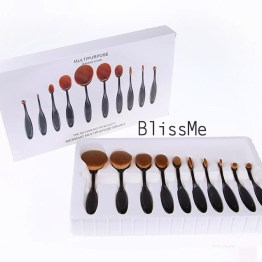 NEW! Oval Brush Make-Up Pinsel Set / Pinceau Set