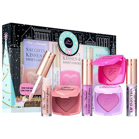 Too Faced Holiday Edition Naughty Kisses & Sweet Cheeks