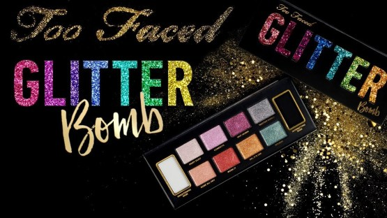 Too Faced Glitter Bomb Eye Shadow Palette