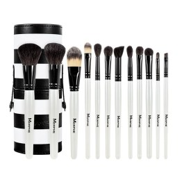 Morphe Brushes 706 12 Piece Black and White Travel Brush Set