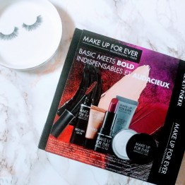 Sephora x MAKE UP FOR EVER Basic Meets Bold Set