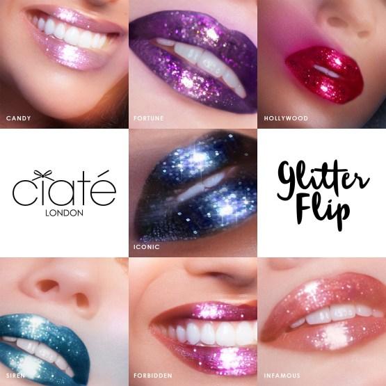 "Ciate London Glitter Flip Liquid Lipstick ""Hollywood"""
