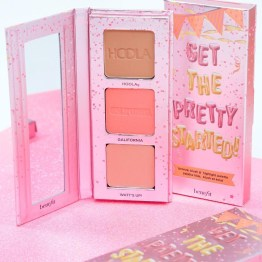 Benefit Get The Pretty Started! Bronze, Blush & Highlight Palette