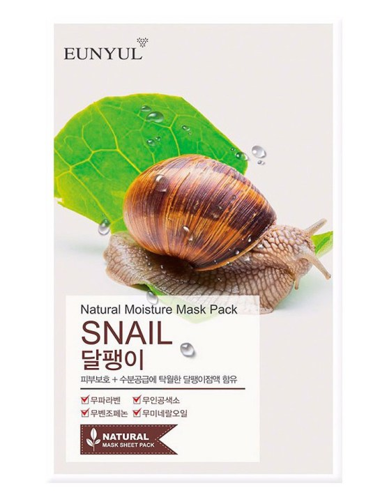 EUNYUL Natural Moisture Mask Pack - Snail