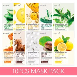 EUNYUL Natural Moisture Mask Pack x 10 Set