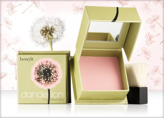 Benefit Cosmetics Dandelion Shimmer Cheek & Face Powder