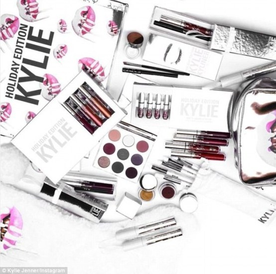 Kylie Limited Edition Holiday Collection Merry Bundle