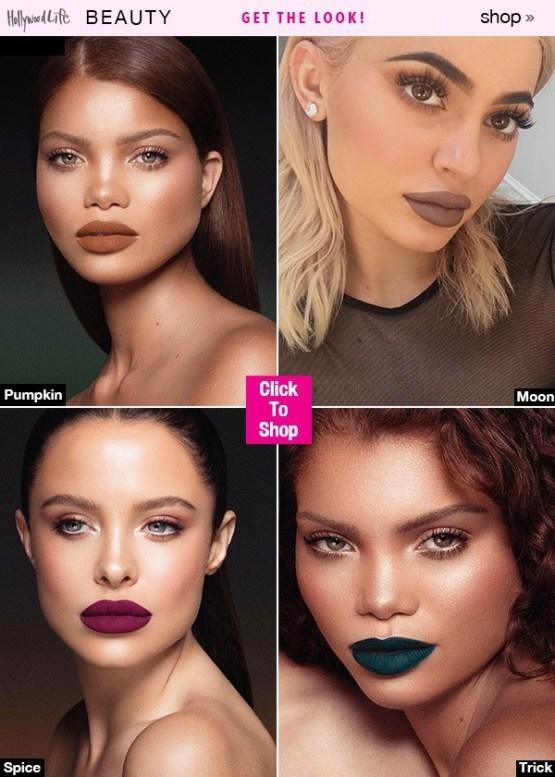 Kylie Lip Kit by Kylie Jenner | Pumpkin Matte Liquid Lipstick + FREE GIFT BAG