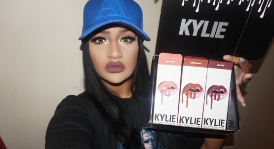 Kylie Lip Kit by Kylie Jenner Love Bite Matte Liquid Lipstick