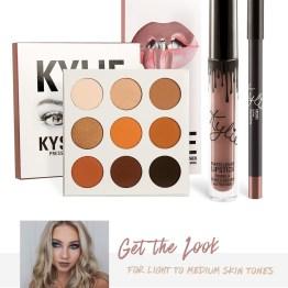Kylie | The Bronze Palette & Moon Lip Kit Bundle