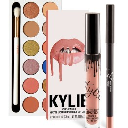 Kylie | The Royal Peach Palette & Apricot Lip Kit Bundle
