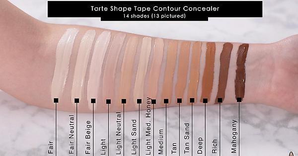 Tarte Cosmetics Shape Tape Contour Concealer Fair Beige