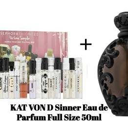 Edit: Sephora Favorites Perfume Sampler Set + Full Size KAT VON D Sinner Eau de Parfum
