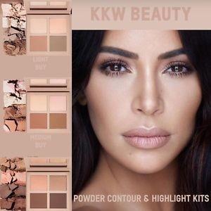 "KKW Powder Contour & Highlight Kit ""Light"""