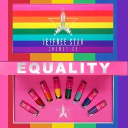 Jeffree Star Cosmetics Mini Rainbow Velour Liquid Lipstick Bundle