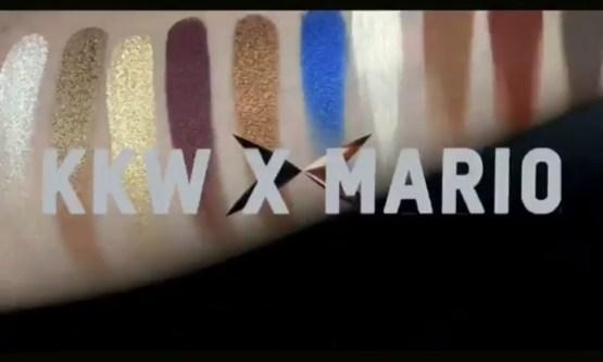 KKW Beauty x Mario Eyeshadow Palette