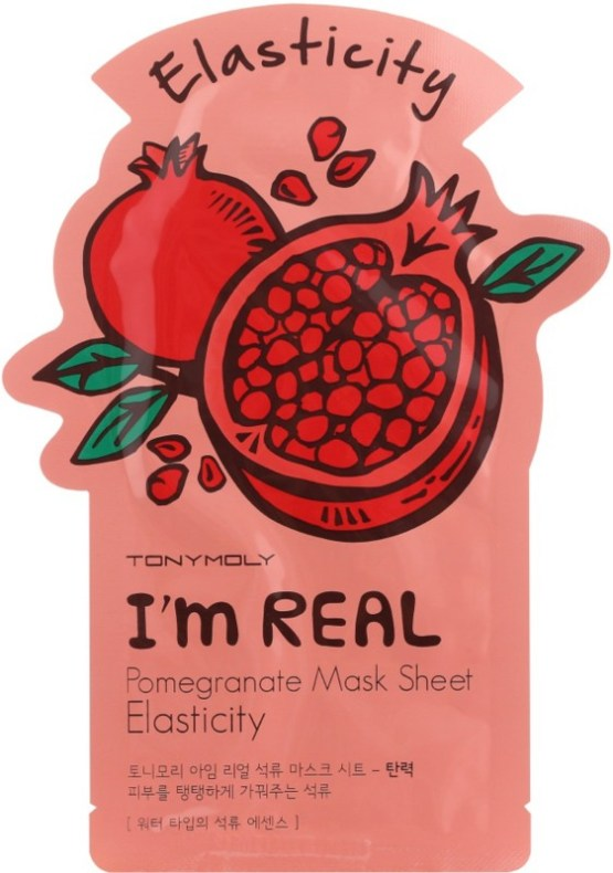 "TONYMOLY I'm Real Sheet Mask ""Pomegranate"""