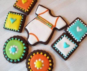 Baby Shower Mini Cookies