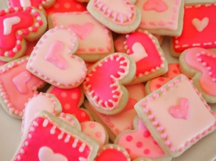 Valentine's Day - Custom Mini Cookies