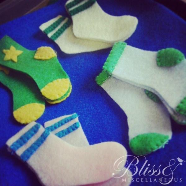 Sock matching page