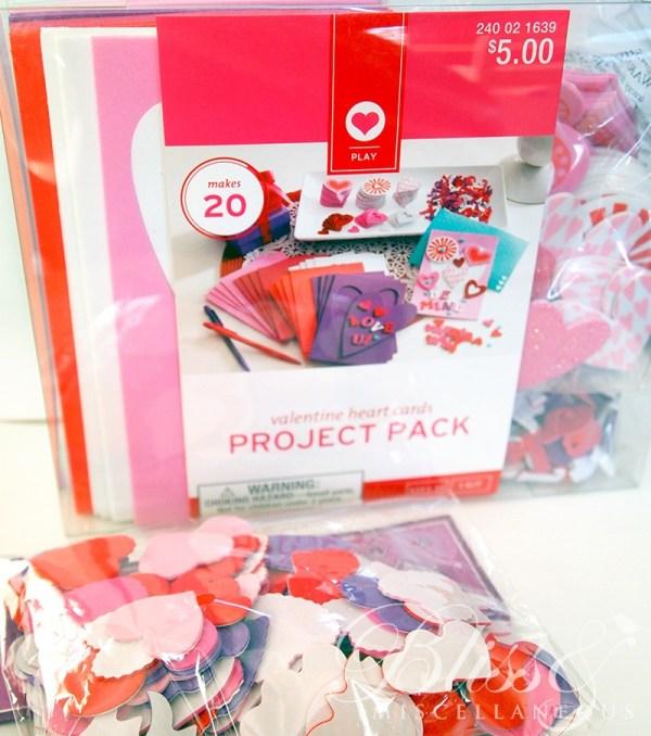 Target Foam Valentines Stickers