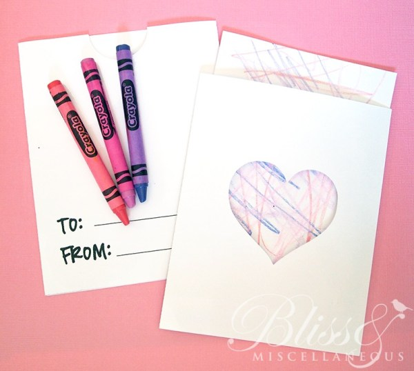 Toddler Valentine Card Print & Cut