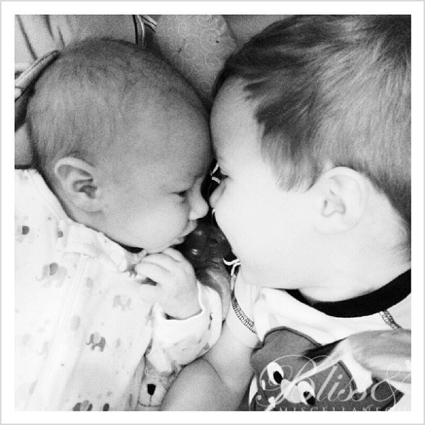 Brotherly love #myboys #brothers