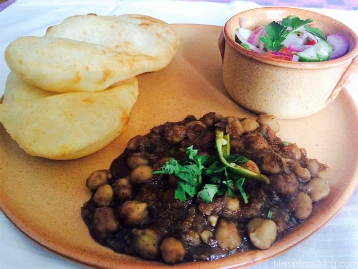 Chole Bhature, Pindi Chana, Chola Bhatura