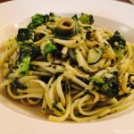 Spinach & Broccoli Spaghetti, Green Pasta