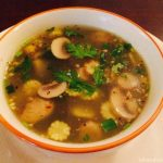 Coriander & Lemongrass Soup