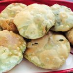 Matar Kachori, Green Peas stuffed Poori