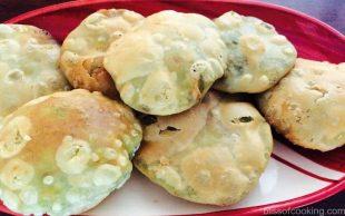 Matar Kachori, Green Peas stuffed Poori