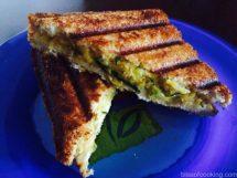 Corn Sandwich, Grilled Corn sandwich