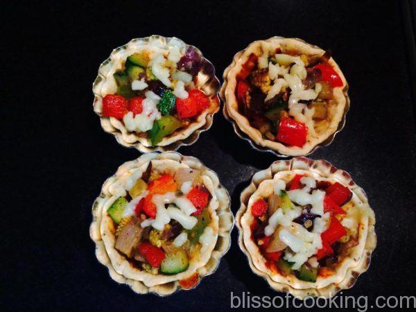 Pizza Tartlets