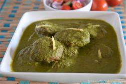 Air Fried Hariyali Cabbage Kofta