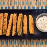 Baked Zucchini Fingers