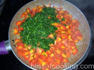 Gajar Methi Ki Sabzi (Carrot And Fenugreek)