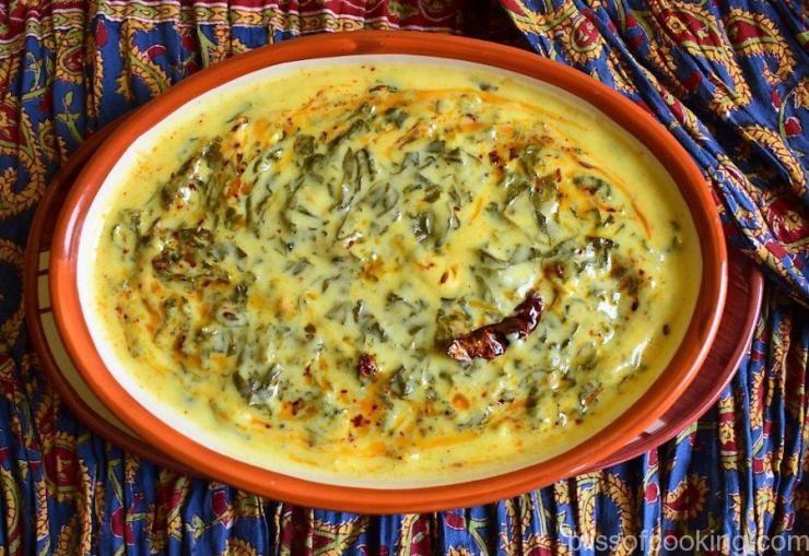 Palak Ki Kadhi, Spinach Kadhi