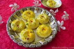 Quick Keshar Pista Sandesh
