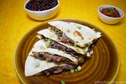 Refried Bean Quesadilla