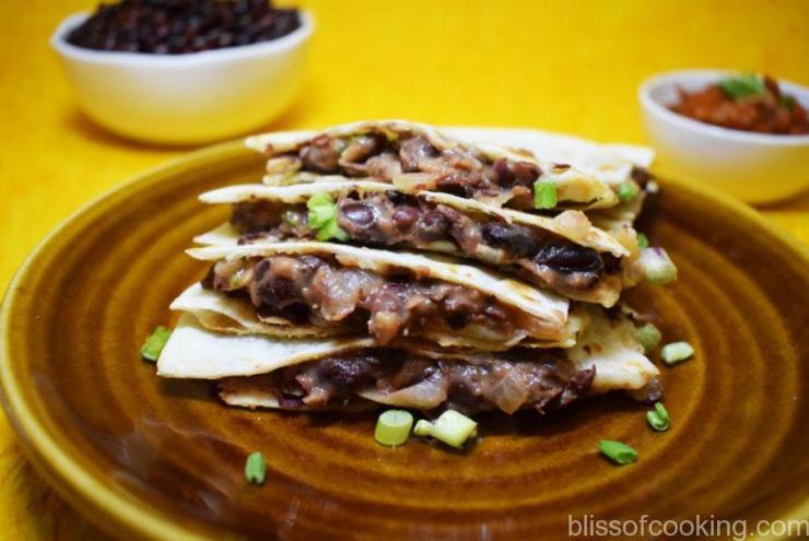 Refried Bean Quesadilla