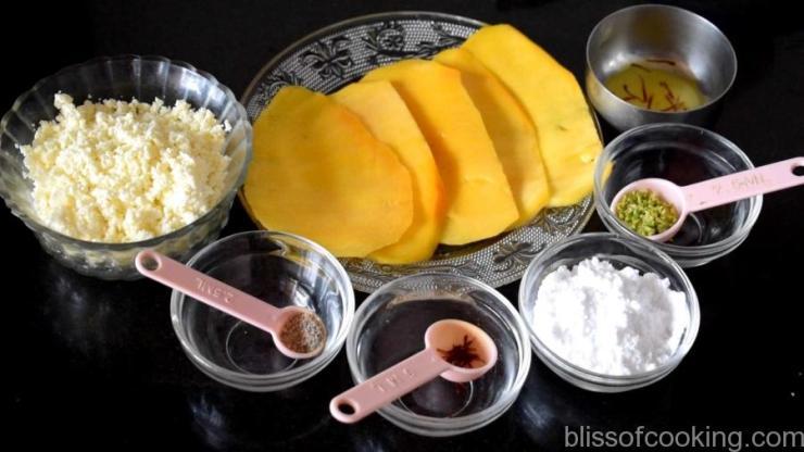 Mango Paneer Rolls