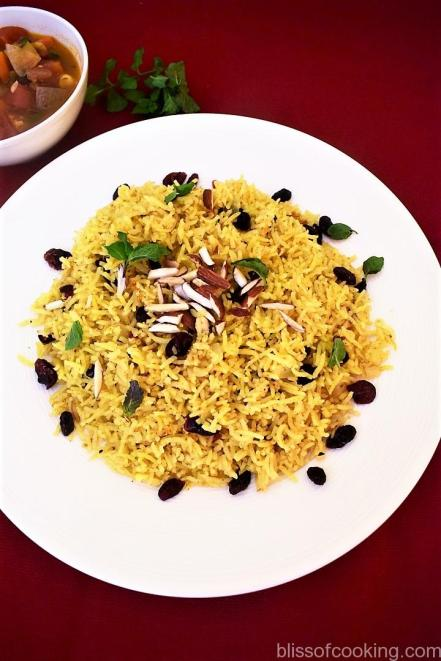 Basmati Pilaf with Dry Fruits