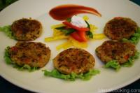 Foxtail Millet and Herb Patty